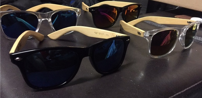 Image of Shadow Co. Bamboo Sunglasses