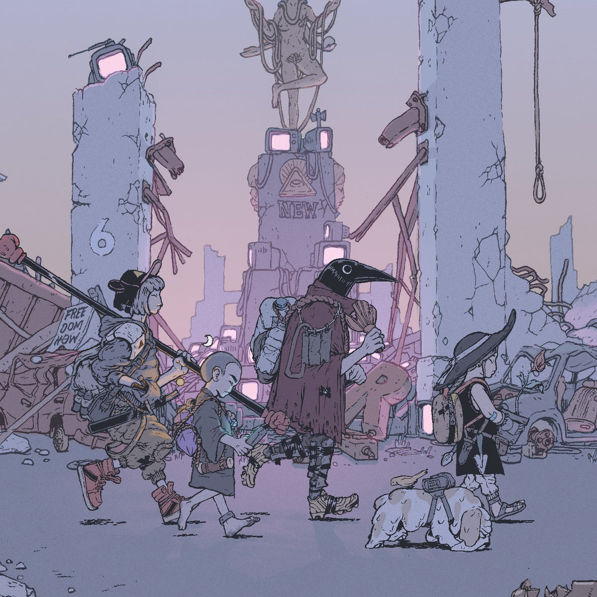 Image of The Wanderers Print