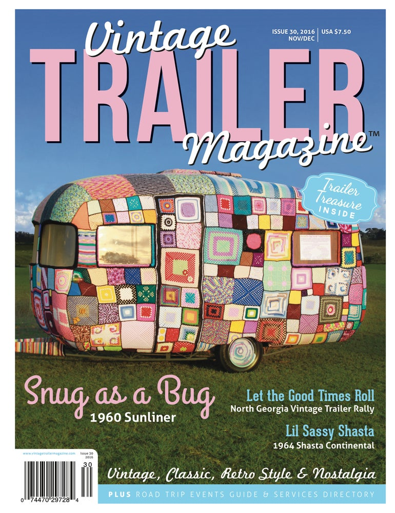 Image of Issue 30 Vintage Trailer Magazine