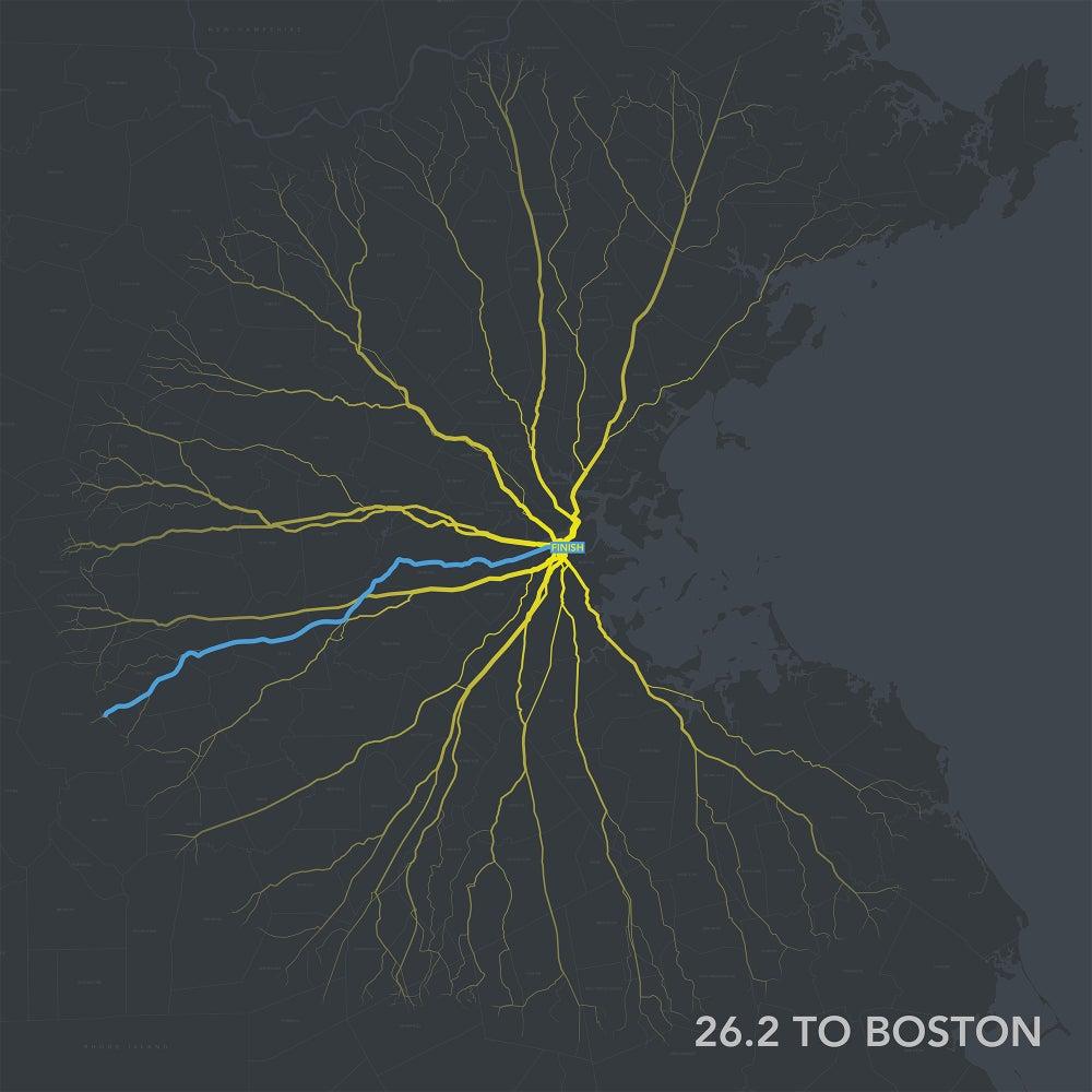 Image of 26.2 to Boston