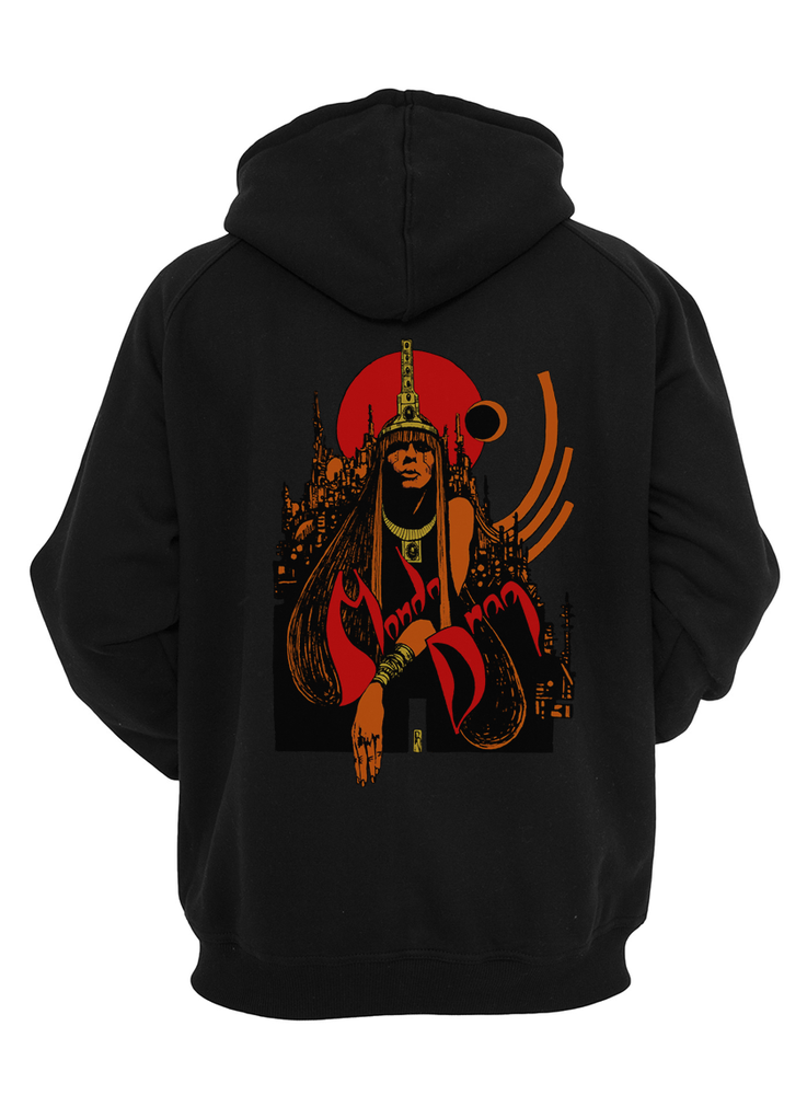 Image of Lady In Gold Hoodie - Pull Over