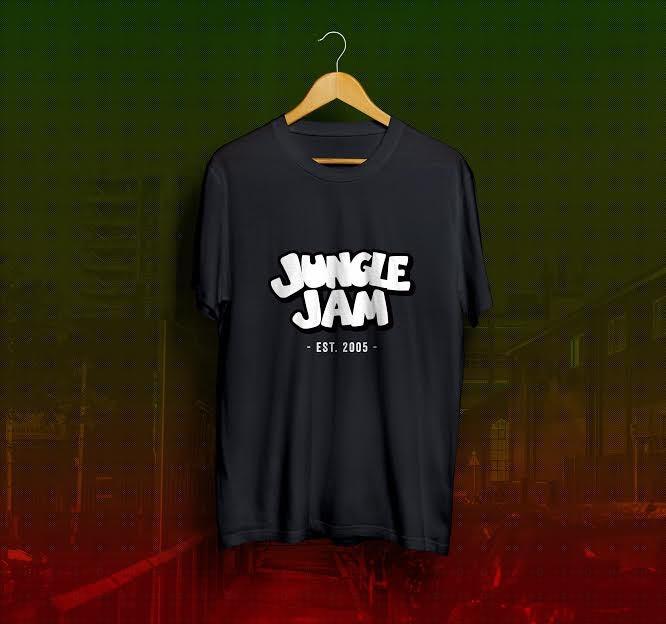 Image of Jungle Jam Est 2005 T-Shirt - Black