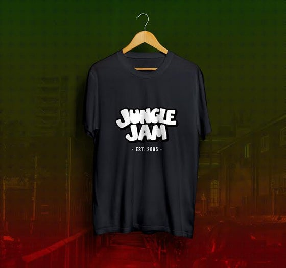 Image of Jungle Jam Est 2005 T-Shirt - Black