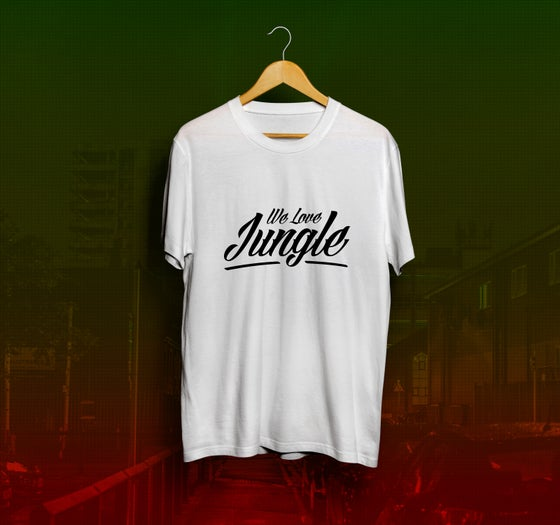 Image of We Love Jungle T-Shirt - White