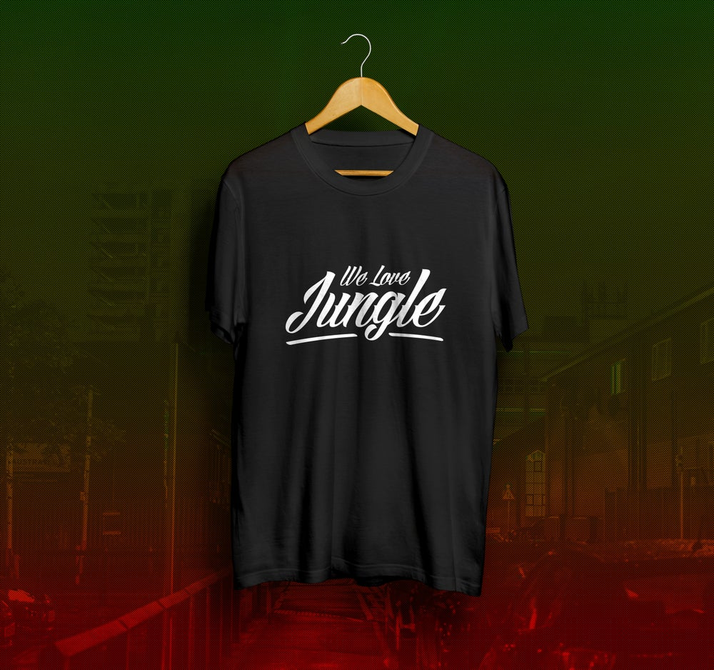 Image of We Love Jungle T-Shirt - Black