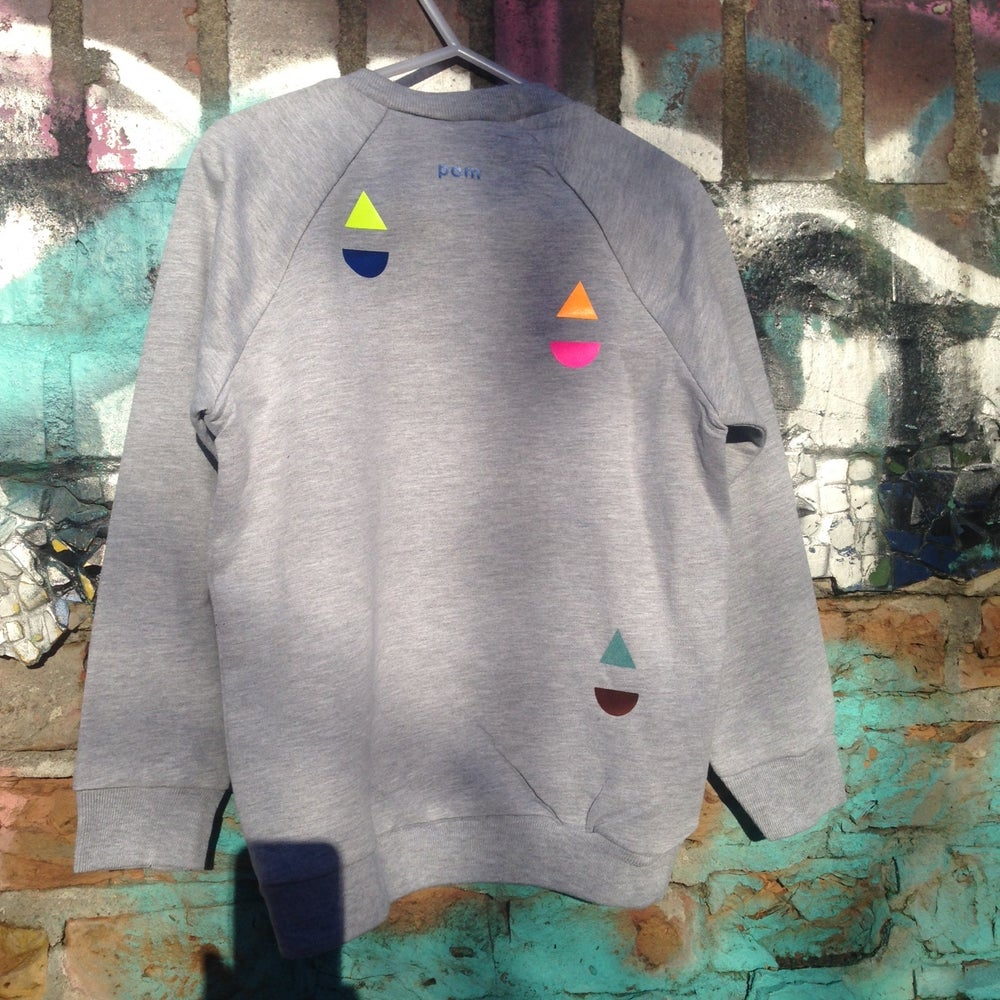 Image of Sweater little boat grey