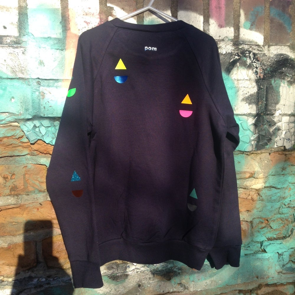 Image of Sweater little boat navy