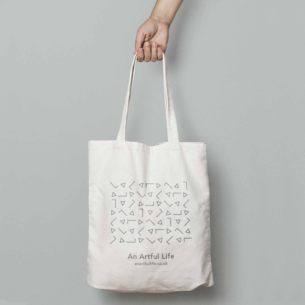 Image of An Artful Life tote bag