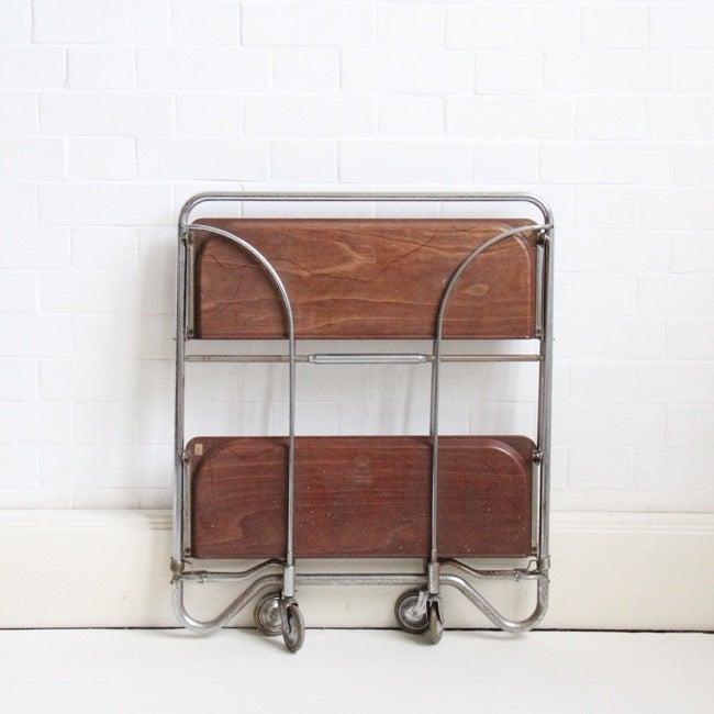 Image of German fold away trolley c1960 SALE WAS £70