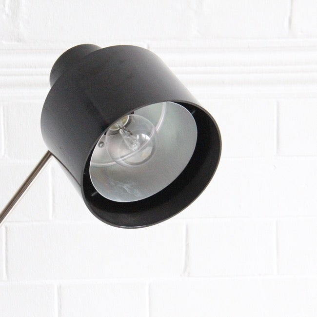 Image of A Bakelite and Nickel desk light from the Czechoslovkia,
