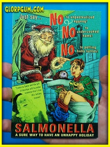 Image of Salmonella Holiday Health cards!