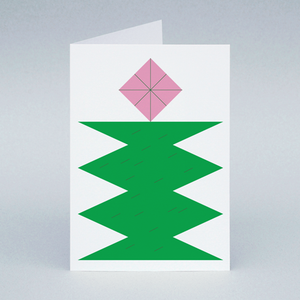 Image of Green Tree card