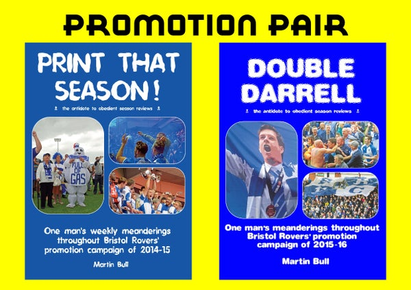 Image of The Promotion Pair - 'Double Darrell' & 'Print That Season!'
