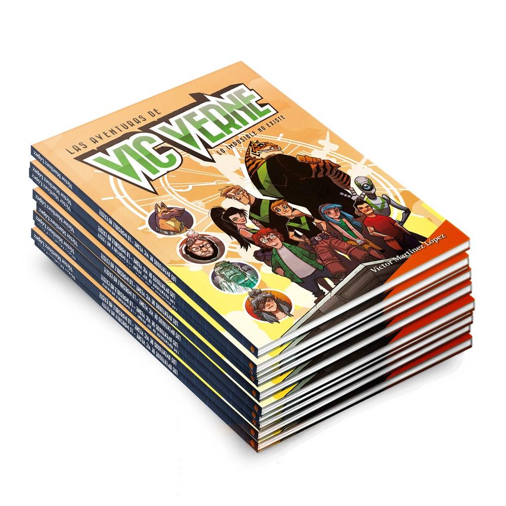 """Image of Lote de 10 ejemplares de """"Las aventuras de Vic Verne"""""""