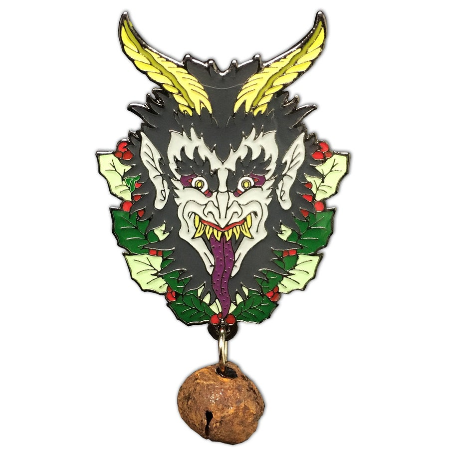 Image of Krampus Eve - Lapel Pin