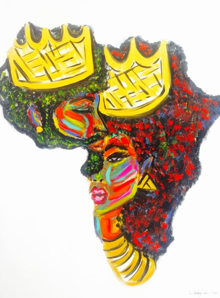 """Image of """"DEEPLY ROOTED"""" Art Print"""