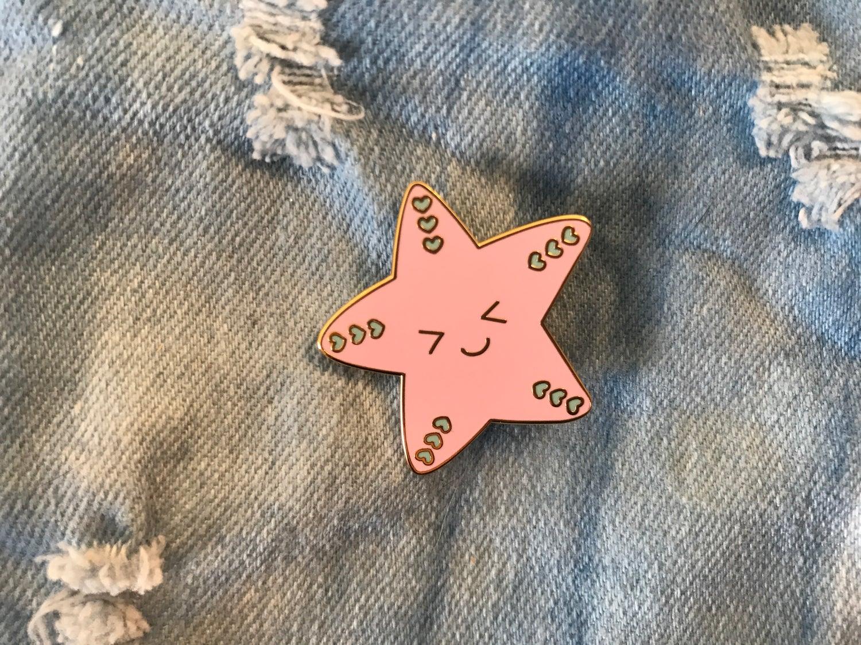 Image of Starfish Enamel Pin
