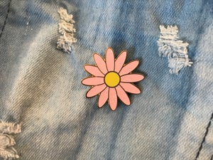 Image of Daisy Enamel Pin