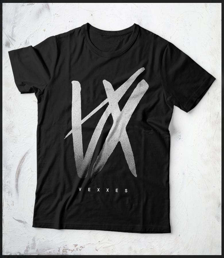 Image of VEXXES 'VX' TEE (BLACK)