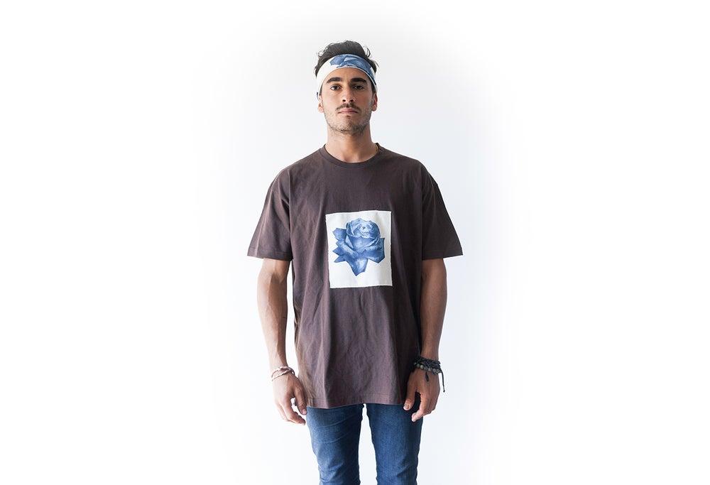 Image of Brown Rōzu artesan T-shirt