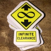 Image of Infinite Clearance Sticker