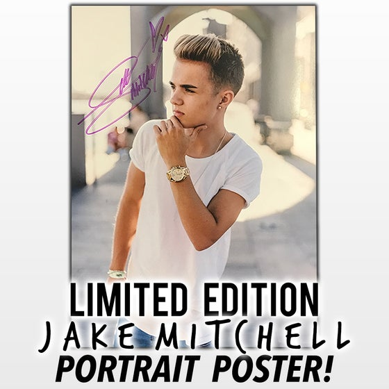 Image of Limited Edition Jake Mitchell Poster (Portrait)