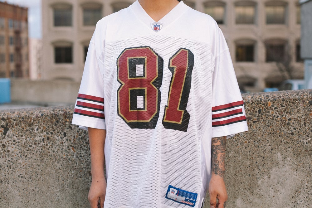 reputable site 4298b 2be36 Vintage Terrell Owens 49ers Jersey