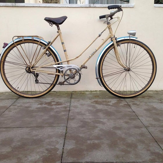 Image of La Perle .  Probably late 1940's 52cm seat 55cm top tube