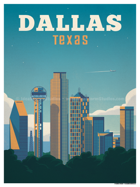 Image of Dallas Poster