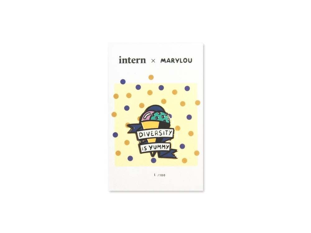 Image of Intern x Marylou Faure 'Diversity' Pin