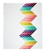 Image of Ripple Quilt ombré fabric bundle