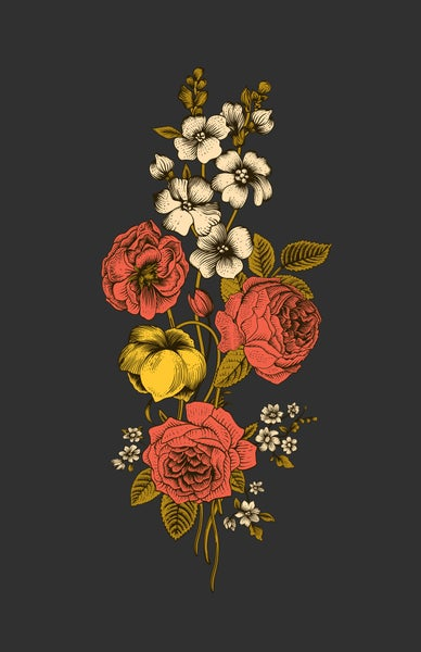 Image of Bouquet Art Print