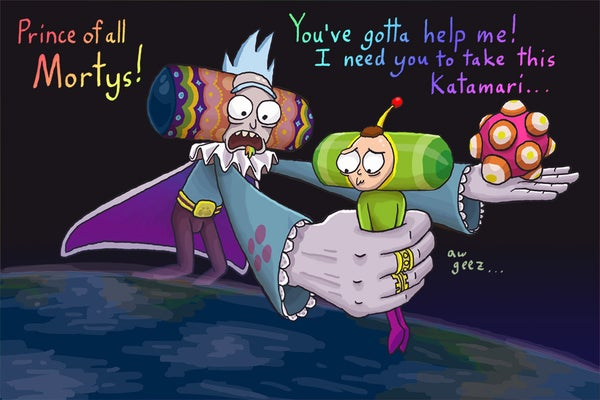 "Image of ""Kata-morty Damacy"" (text)"