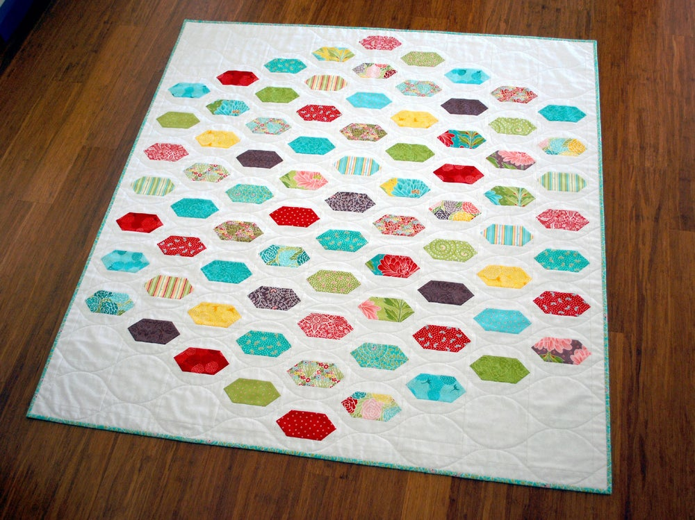 Image of Cough Drop PDF Quilt Pattern