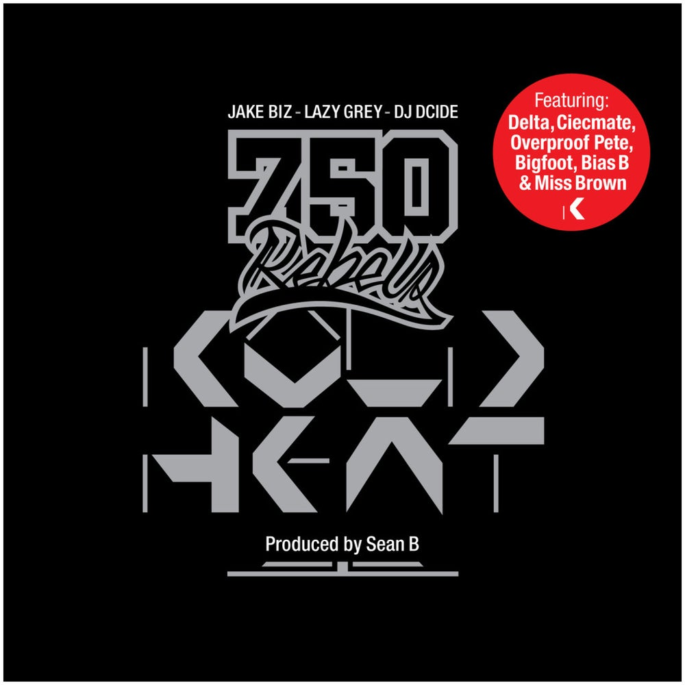 "Image of 750 REBELS ""KOLD HEAT"" CD"