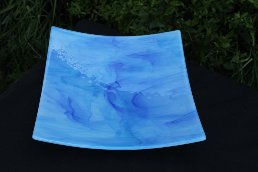 Image of Large Curved Glass Platter