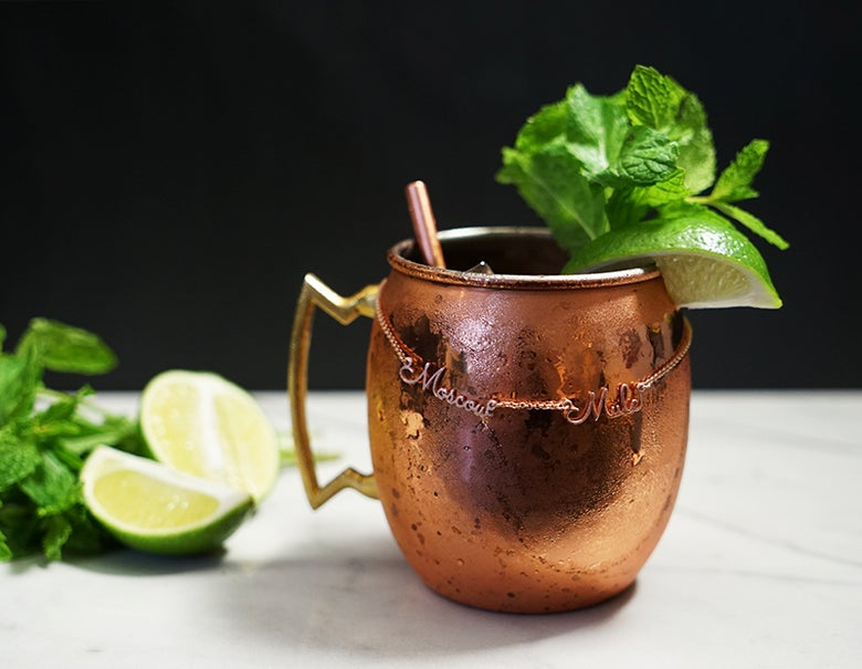 Image of Moscow Mule Cocktail Necklace
