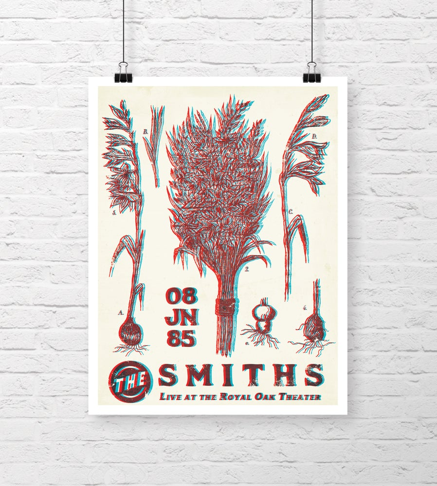 Image of The Smiths - Gig Poster