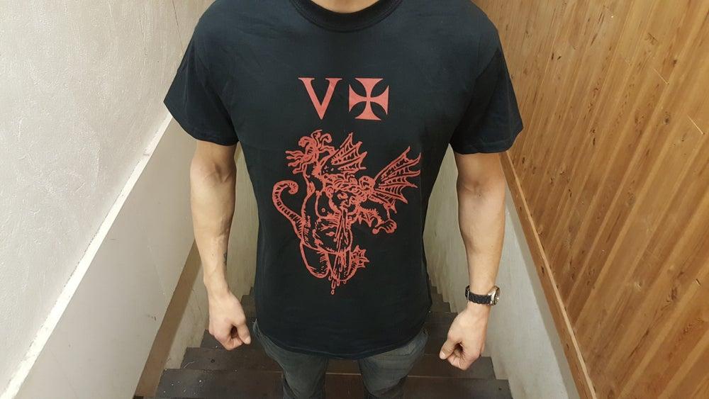 "Image of NYIÞ - ""V ☩"" T-shirt"