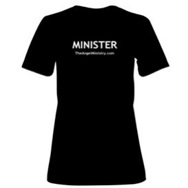 Image of Minister's Traditional Black T-Shirt