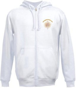Image of Minister's White Hoodie