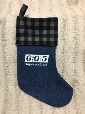 Image of 6:05 Superpodcast Denim Stockings