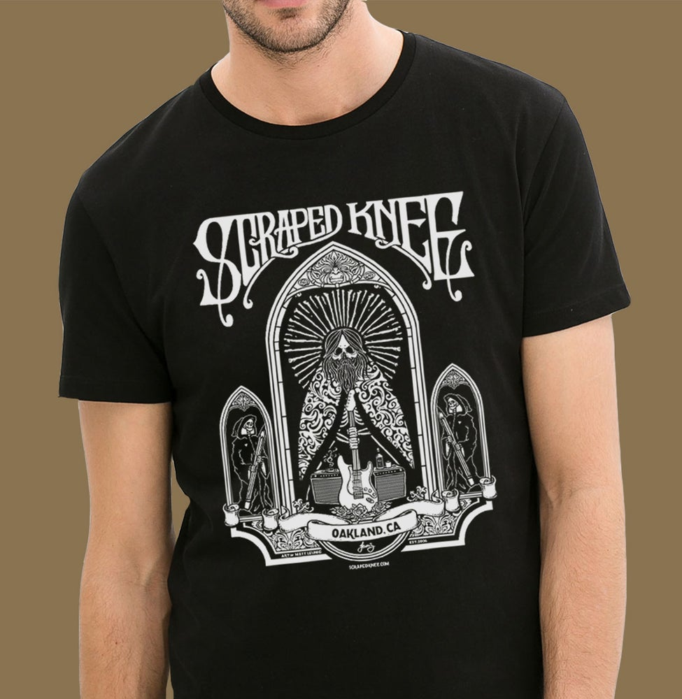 Image of Scraped Knee 10 yr Anniversary shirt