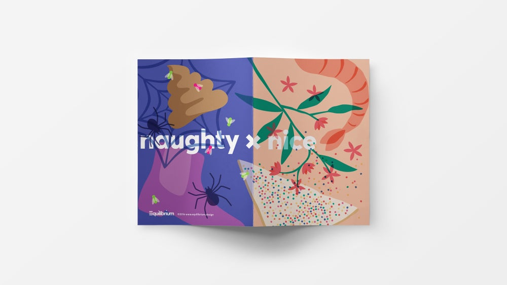 Image of Naughty x Nice: Greeting cards