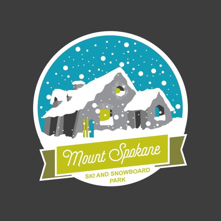 Image of Vista House Snow Globe Print