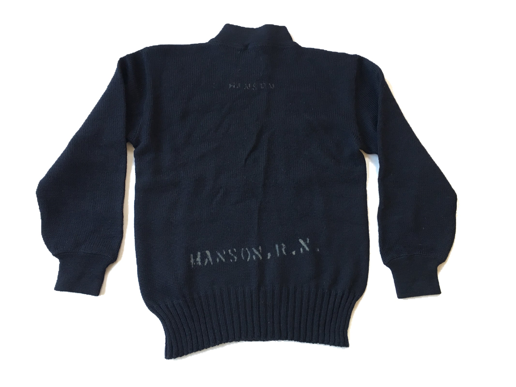 Image of WWII US NAVY SAILOR WOOL SWEATER