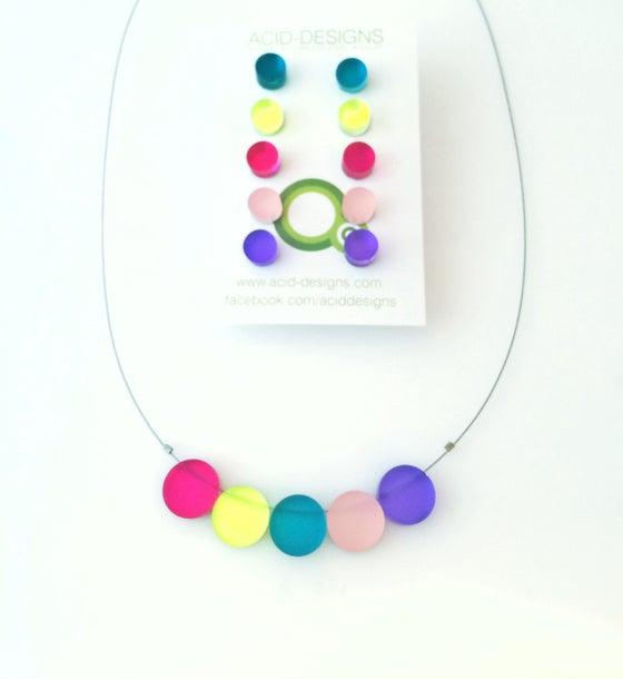 Image of Set náhrdelník & náušnice circles