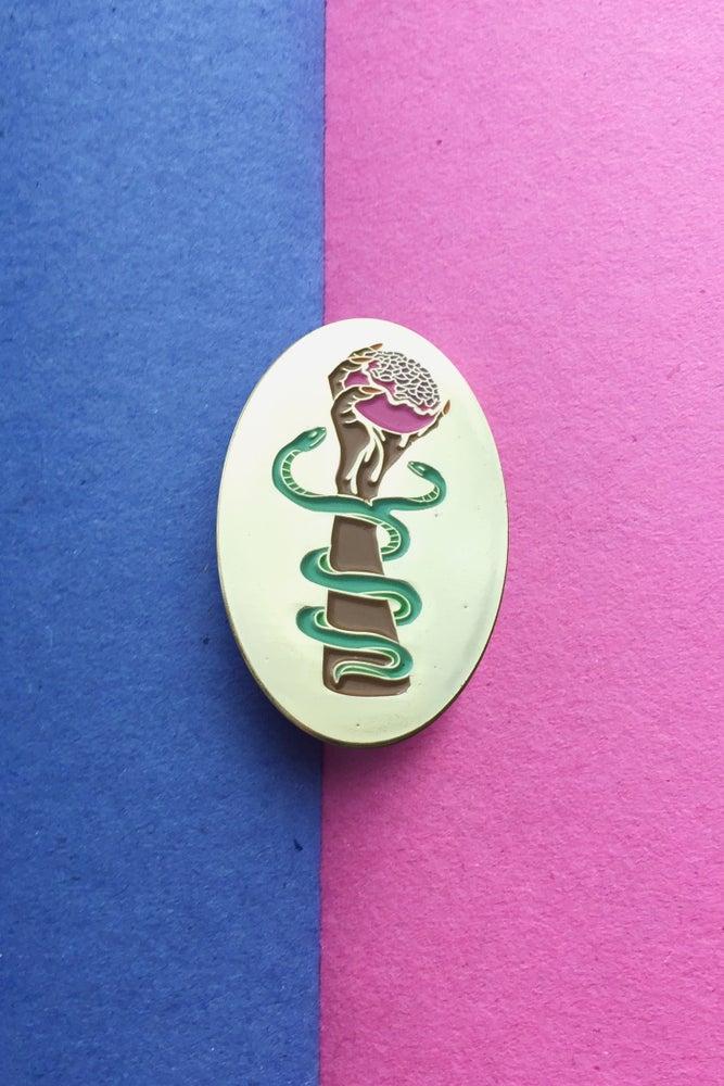 Image of AMULET OF PROSPERITY LAPEL PIN