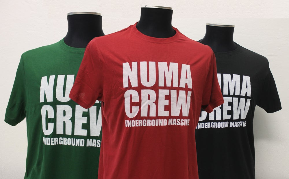 Image of Numa Crew Old Skool Logo x Soundboys