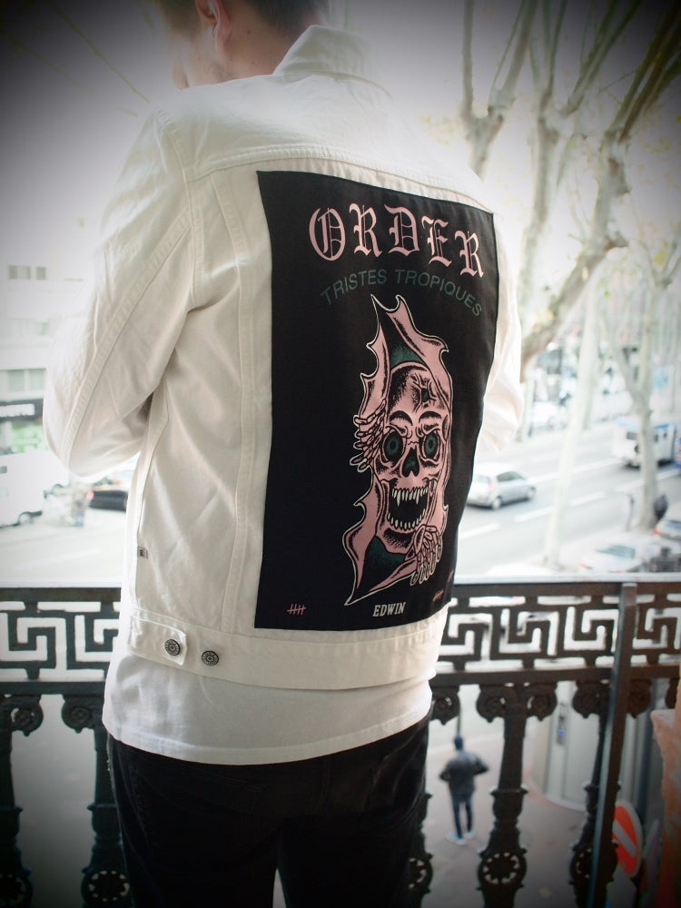 Image of Order x Edwin Europe x Tristes Tropiques denim jacket